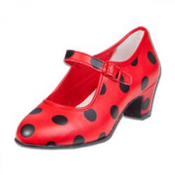 Zapato con lunares