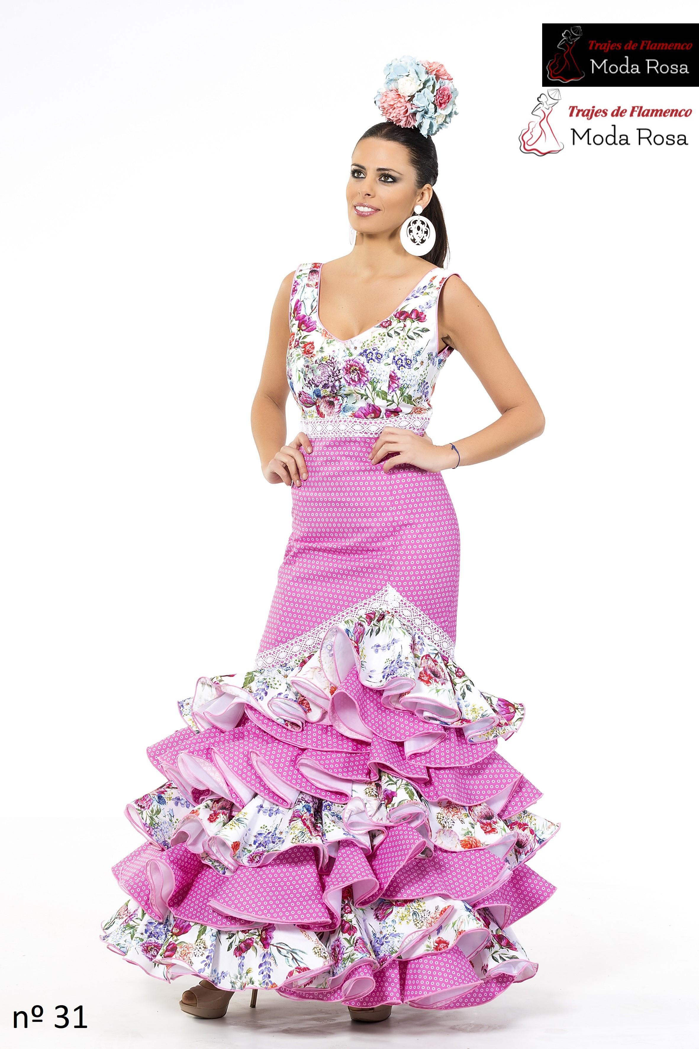 Traje De Flamenca - Trajes de flamencos Moda Rosa