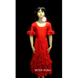 Conjunto de niña Falda + body