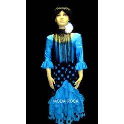 Conjunto de niña Falda + body + fleco