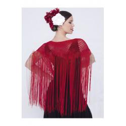 Mantón Flamenco de Crochet para Mujer